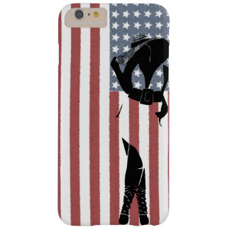 American Woman Barely There iPhone 6 Plus Case
