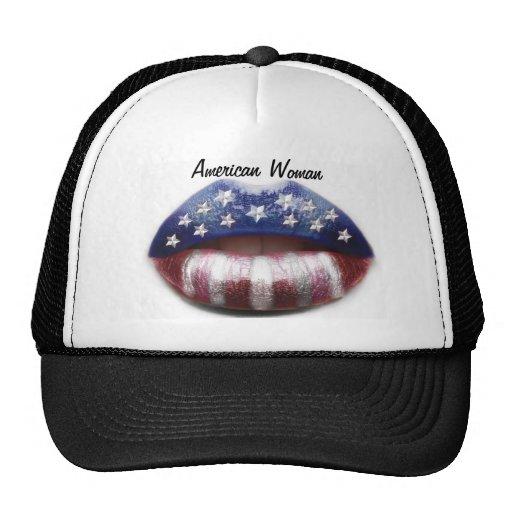 American Woman Mesh Hat