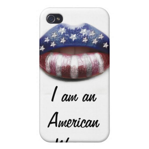 American Woman Cases For iPhone 4
