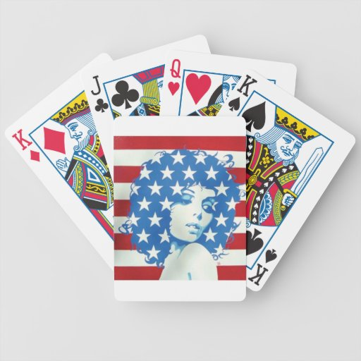American Woman Deck Of Cards