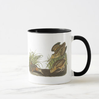 American Woodcock, John Audubon Print Mug