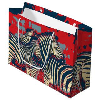 American Zebra Large Gift Bag