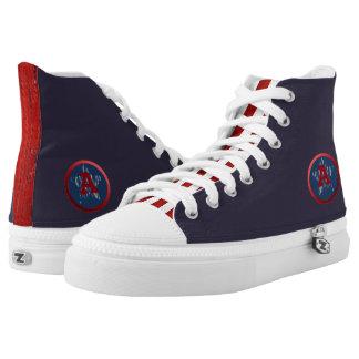 American Zip Z High Shoe Printed Shoes