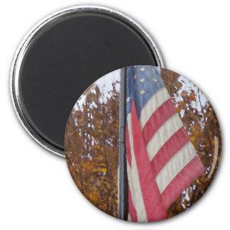 Americana 4th of July Memorial Day Patriotism USA Refrigerator Magnet