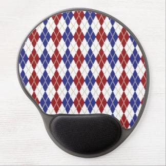 Americana Argyle Gel Mousepad Gel Mouse Mats