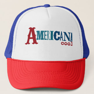 Americana Cool Trucker Hat