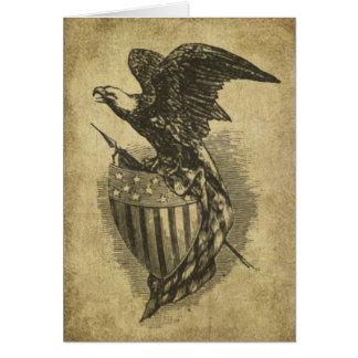 Americana Eagle- Prim Lil Note Cards