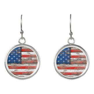 Americana Flag Earrings