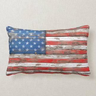 Americana Flag Lumbar Cushion