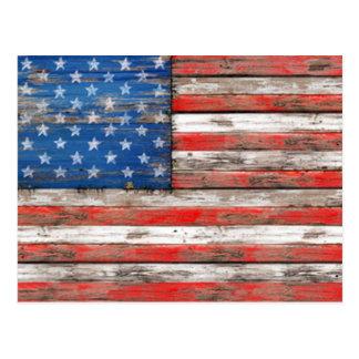 Americana Flag Postcard