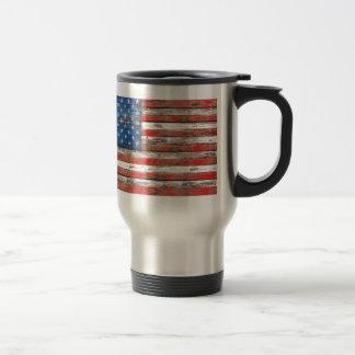 Americana Flag Travel Mug