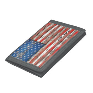 Americana Flag Trifold Wallets