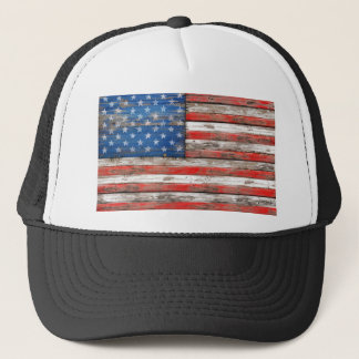 Americana Flag Trucker Hat