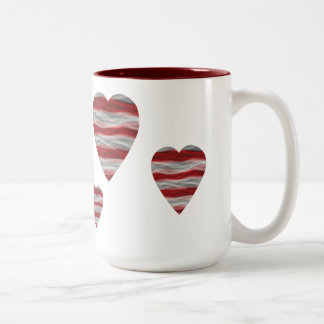 Americana Heart Coffee Mug