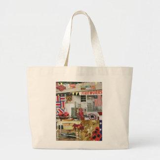 Americana Jumbo Tote Bag
