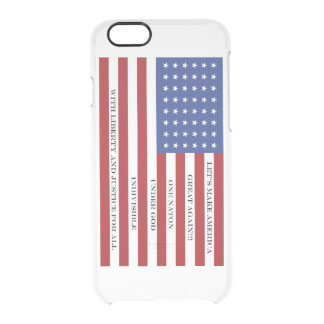 Americana  MAGA Clear iPhone 6/6S Case