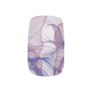 Americana Modern Art Design Mauve Minx Nail Art