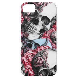 Americana Multi rose skull pattern. iPhone 5 Covers