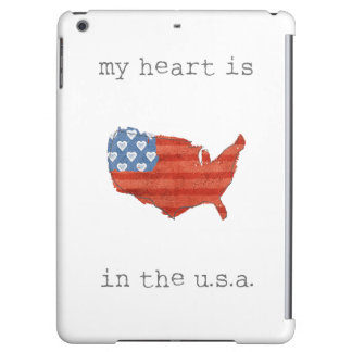 Americana | My Heart Is In The USA Map