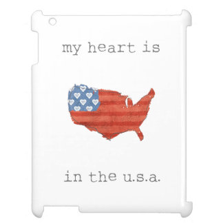 Americana | My Heart Is In The USA Map Case For The iPad 2 3 4