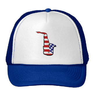 Americana Saxophone Mesh Hats