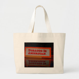 Americana: Tabacco Jumbo Tote Bag