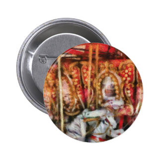 Americana - The Carousel - Painted Pinback Button
