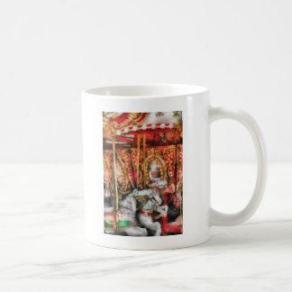 Americana - The Carousel - Painted Mug