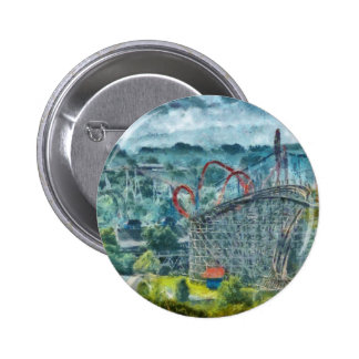 Americana - The thrill ride 6 Cm Round Badge