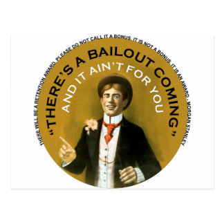 Americana There's A Bailout Coming Neil Young Postcard