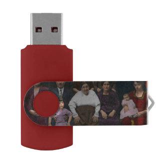 Americana - This is my family 1925 Swivel USB 2.0 Flash Drive