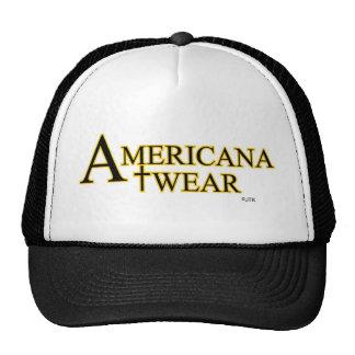 AMERICANA WEAR FROM JTK AMERICANA INC MESH HAT