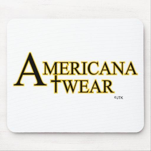 AMERICANA WEAR FROM JTK AMERICANA INC MOUSEPAD