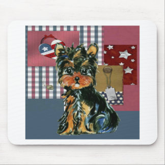 AMERICANA YORKIE MOUSE PAD