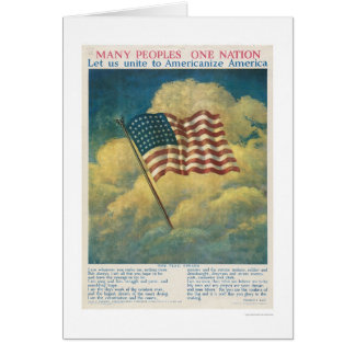 Americanise America Greeting Card