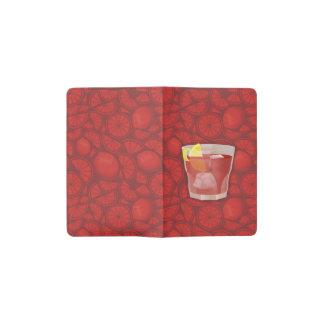 Americano cocktail pocket moleskine notebook