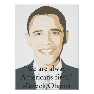 Americans First Posters