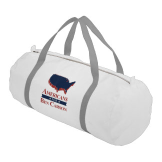 Americans for Ben Carson in 2016 Gym Duffel Bag