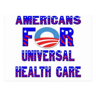Americans For Universal Health Care Postcard