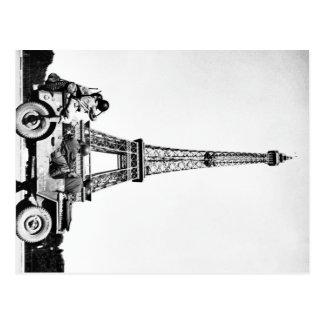 Americans in Paris Postcard