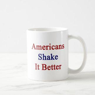 Americans Shake It Better Basic White Mug
