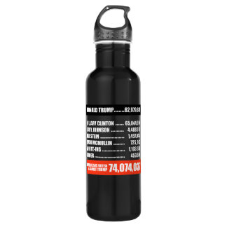 Americans Voted Against Trump - white - 710 Ml Water Bottle