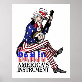 America's Banjo Poster
