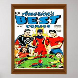 America's Best Superhero Comic Cover Issue 22 Poster
