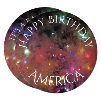 Americas Birthday Card
