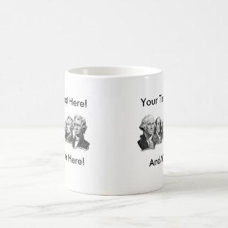 America's Founding Fathers Basic White Mug