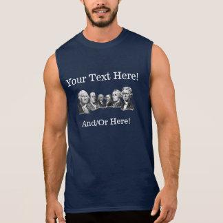 America's Founding Fathers Sleeveless Shirt