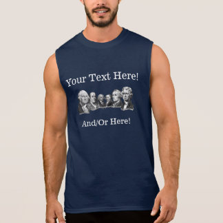 America's Founding Fathers Sleeveless Tees