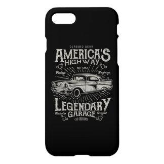 America's Highway Glossy Phone Case