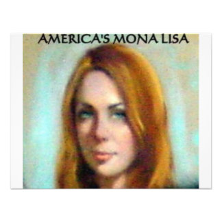 AMERICA'S MONA LISA INVITATIONS